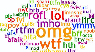This quiz tests your internet abbreviations knowledge