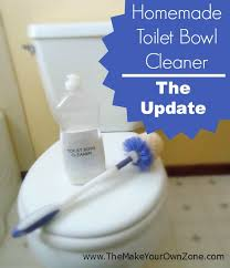 homemade toilet bowl cleaner the update