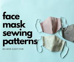 face mask sewing patterns roundup so