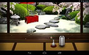 zen garden live wallpaper android spring