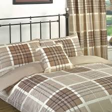 double duvet set and matching curtains