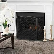 fireplace accessories in black now