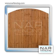 Feather Edge Panel Dome Bow Top Nar Fencing Timber Supplies