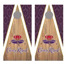 Crown Royal Design Corn Hole Board Decal Wraps Let S Print Big