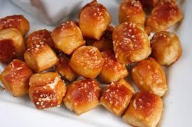hot ered soft pretzels our sister
