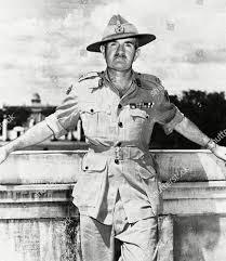 Britains Lieutenant General Sir William J Slim Editorial Stock ...