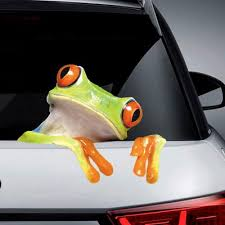 5pcs Large 3d Funny Frog Car Window Windshield Vinyl Decal Graphic Stickers Gift Buy At A Low Prices On Joom E Commerce Platform