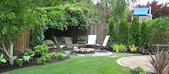 lawn garden back yard landscaping
