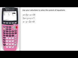 row reduction gaussian elimination