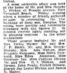 Ada Watson mentioned in this article in Milford, Ct. 1923 - Newspapers.com