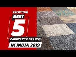 top 5 carpet tile brands in india on