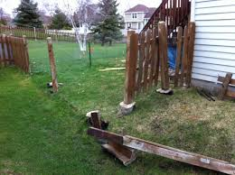 Resetting Fence Posts In Very Wet Conditions Home Improvement Stack Exchange