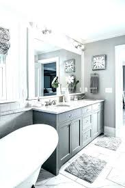 small gray and white bathroom ideas