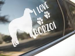 Rough Collie Dog Puppy Car Bumper Sticker