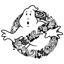 Wall Sticker Ghosts Of The Ghostbusters Muraldecal Com