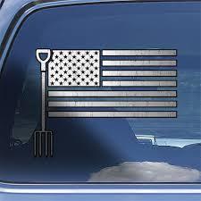 Farmer Usa Flag Decal Sticker Rancher Us Flag Window Decal American Flag Agriculture Sticker Decal Hard Hat Stickers Window Decals Decals