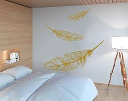 Feather Wall Decals Etsy