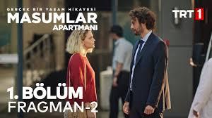 Masumlar Apartmanı 1. Bölüm 2. Fragman - Salı Akşamı TRT 1'de Başlıyor! -  YouTube