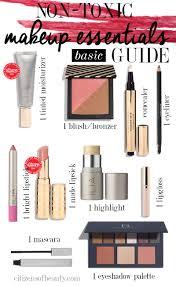 ultimate non toxic makeup essentials