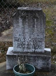 Ida V Roberts Carrier (1918-1956) - Find A Grave Memorial
