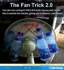 diy air conditioner fan fans