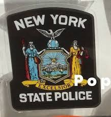 New Jersey State Police Free Shipping Window Decal