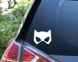 Catwoman Decal Etsy