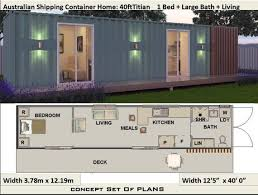 concept container home plans