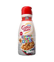 cinnamon toast crunch coffee creamer