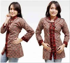 Beli online baju batik murah di bukalapak aja! Model Atasan Batik Cantik Terbaru Idaman Wanita Karir