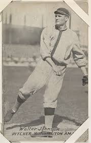 Exhibit Supply Company | Walter Johnson from Baseball Exhibits series  (W461) | The Met