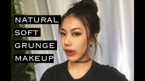 natural soft grunge makeup haley kim