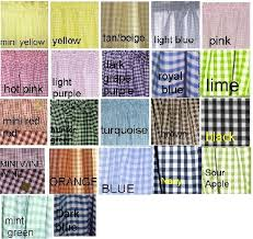 gingham check kitchen cafe curtains