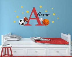 Kids Sports Decals Etsy
