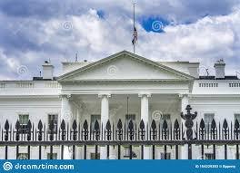 Black Fence White House Pennsylvania Ave Washington Dc Stock Image Image Of President Political 154229353