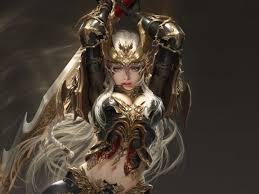 artwork woman warrior league