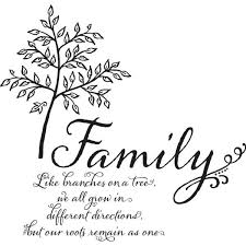 wall pops multi color family tree wall quote decal dwpq the