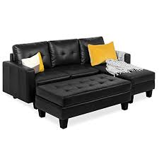 black sectional couches com