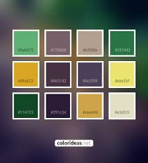 Fern Gray Goldenrod 463142 Color Palette | Color palette ideas