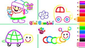 Animals Drawing And Coloring Game - Game Bé Tập Vẽ Và Tô Màu Động Vật Vui  Nhộn - Kids Channel - YouTube