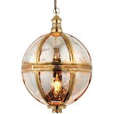 hanging ceiling pendant light brass