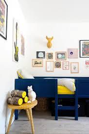 Navy Blue Yellow Kids Room Design Homedesignboard
