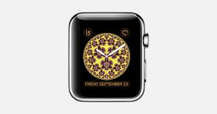 watch face on your apple watch