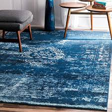 blue overdyed rug com
