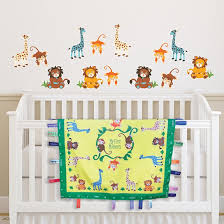 Sunny Jungle Wall Decals Wee Charming
