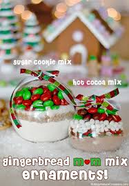 cookie mix ornaments with m m s