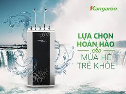 Máy lọc nước kangaroo Kg100HK - Lọc xong uống liền- kiêm luôn nóng lạnh -  Hệ thống Kangaroo Toàn quốc