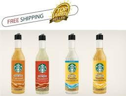 starbucks sugar vanilla syrup 12 fl oz