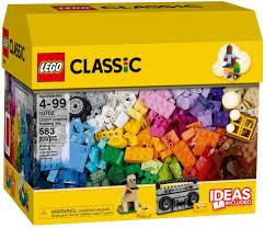 Đồ chơi lắp ráp LEGO Classic 10702 - Hộp gạch LEGO Classic lớn 583 ...