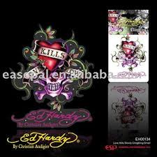Free Shippig Ed Hardy Love Kills Slowly Clingbling Car Decal Car Door Decals Decal Decor Removable Wall Artcar Navigation System Price Aliexpress